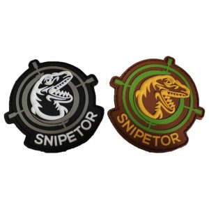 Snipetor PVC Velcro Patch