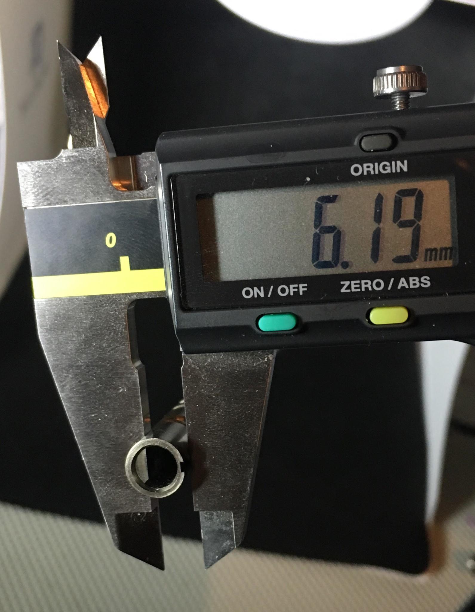 TNT Barrel measurement